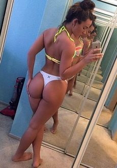 Amateur selfshot of hot young..