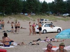 Hote chicks on the beach