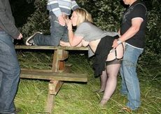 British dogging wife gets a..