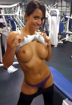Janessa Gym Workout