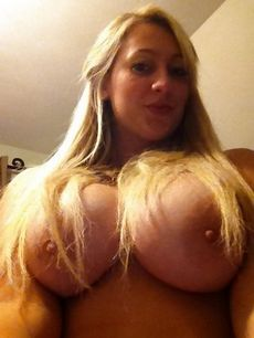 Lovely blonde mature in a awesome..