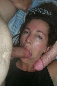 Now giving some great cock sucking..