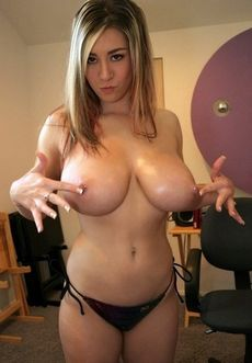 Nude huge pierced breasts have..